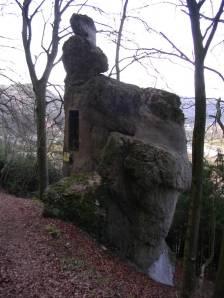 Der Frauenstein von Riedenburg im Altmühltal