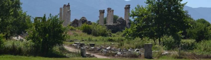 Aphroditetempel in Aphrodisias, Türkei