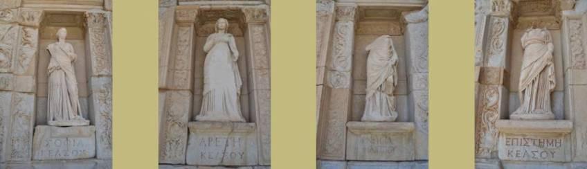Die Weisheit, die Vortrefflichkeit, die Urteilskraft, der Sachverstand, Ephesus, Türkei