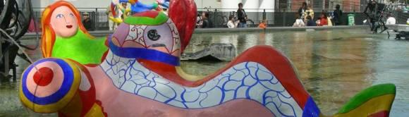 Niki de Saint Phalle: Strawinskybrunnen, Paris (F)