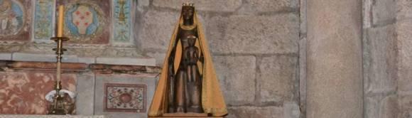 Schwarze Madonna von Rocamadour