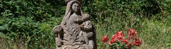 Steinerne Madonna von Roncesvalles (F)
