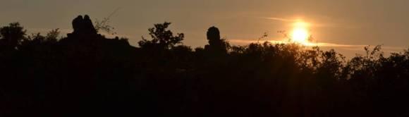 Kogelsteine im Sonnenuntergang (A)