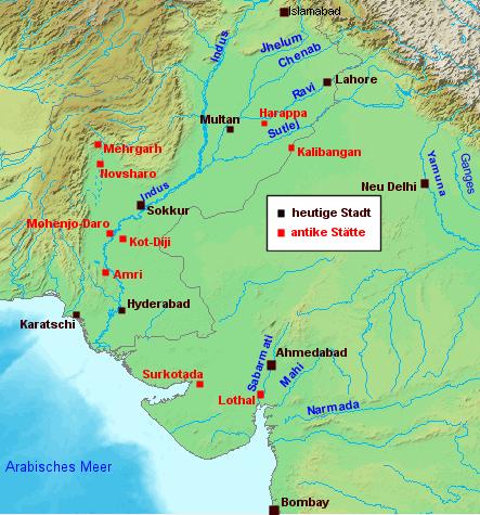 Karte_Harappa