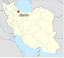 Karte Marlik